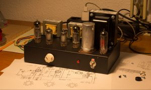 3W SINGLE ENDED CLASS-A STEREO TUBE AMPLIFIER