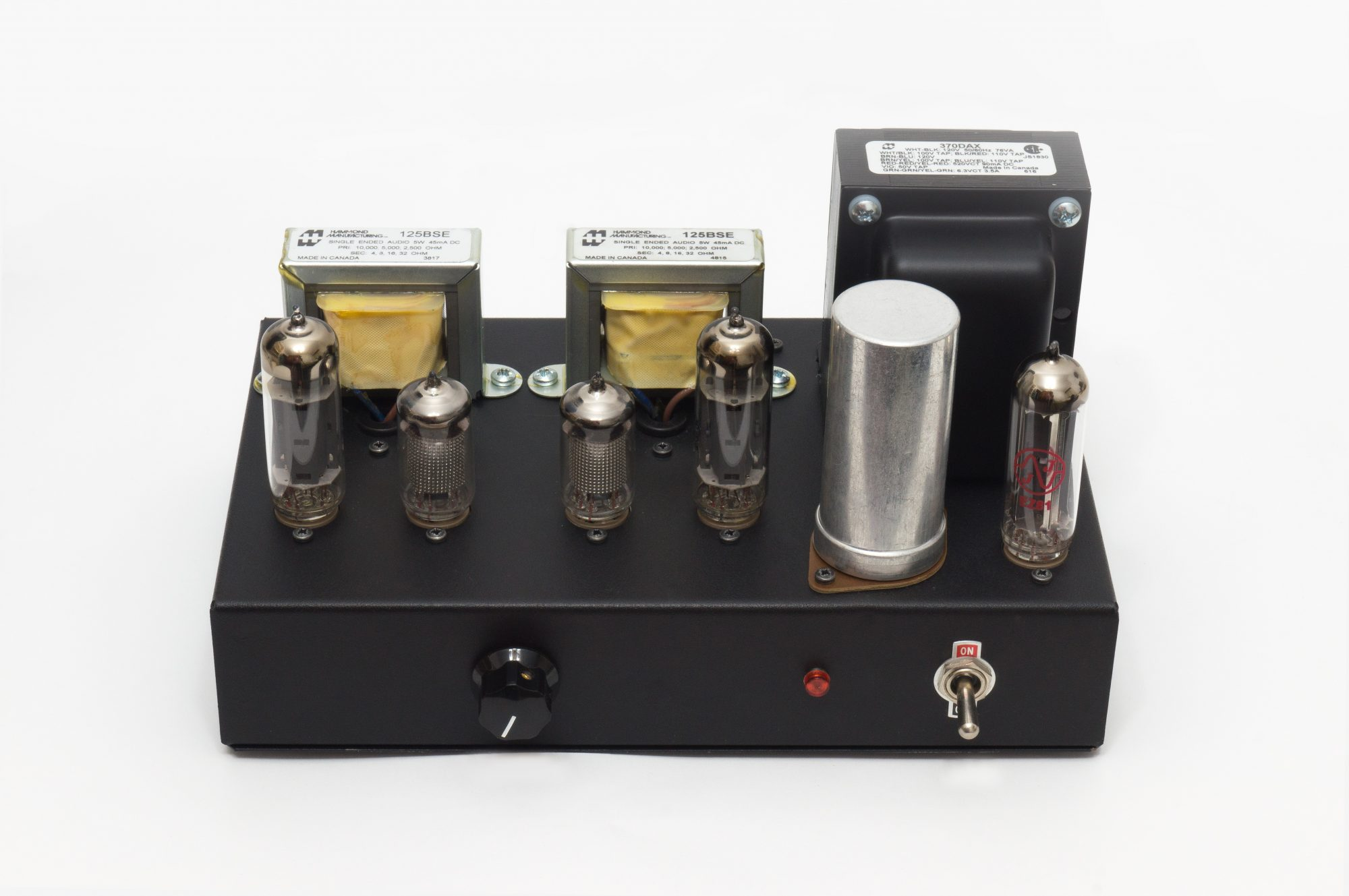 3W Single Ended Class-A Stereo Tube Amplifier – HEATED CATHODE